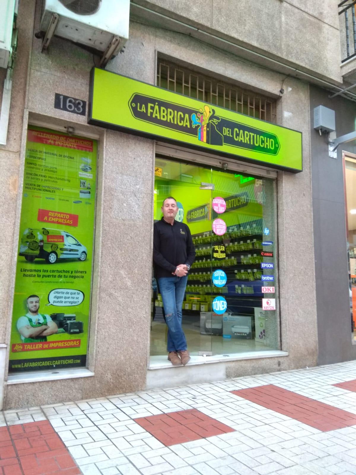 Franquicia cartuchos Málaga